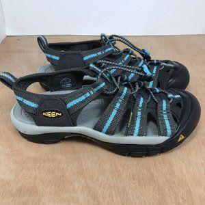 KEEN Newport H2 Women's Gray Shoe Sandals Size 6.5